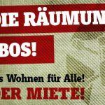 Nie wieder Miete! Gegen die Räumung der WABOS!