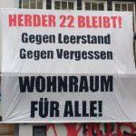 Hausbesetzung in der Herderstraße 22
