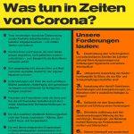 Solidarisch gegen Corona