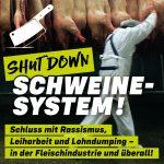 """Aufruf zur Kampagne """"Shut down Schweinesystem"""""""